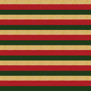 green red gold stripe holiday christmas elf
