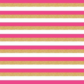 pink gold white stripe stripes