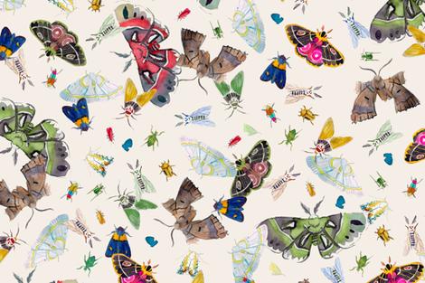 Mothematics fabric by emingeman on Spoonflower - custom fabric