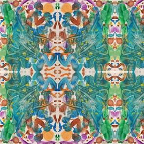 Abstract watercolor pai