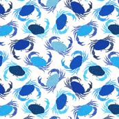 Crabs - blue