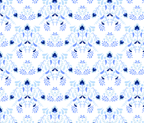 Chinoiserie Challenge Design fabric by sobonnydesigns on Spoonflower - custom fabric