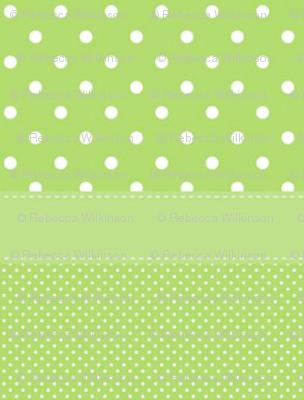 Green Polka Dot Stripe