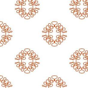 Sparse Squigglies Orange