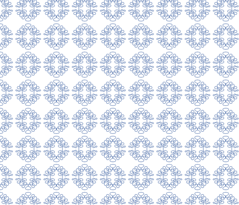 Squigglies Circles Light Blue fabric by maria_spinozzi on Spoonflower - custom fabric