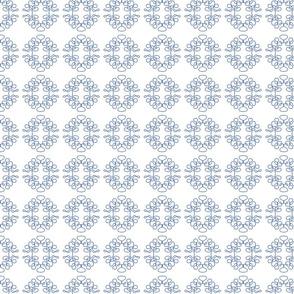 Squigglies Circles Light Blue