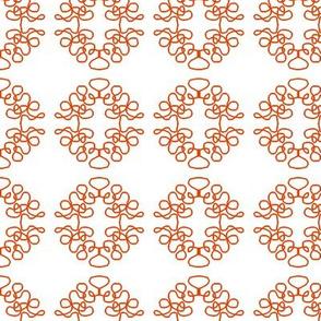 Squigglies Circles Orange