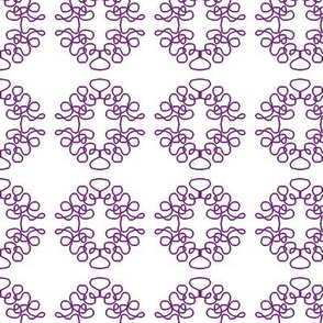Squigglies Circles Purple