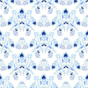 Chinoiserie Inspired Damask Updated