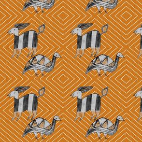 Antelope & Guinea Fowl on Caramel