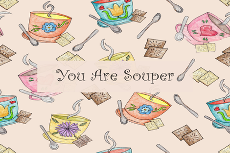 Your Souper fabric by kobelskidesigns on Spoonflower - custom fabric