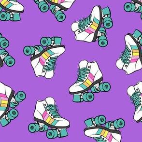 roller skates - purple