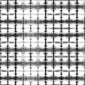 Shibori Squares 3 - small, black