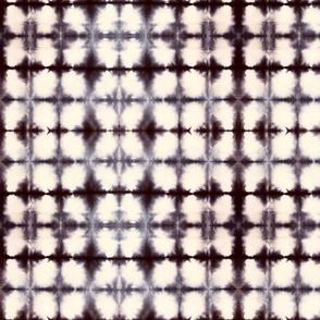 Shibori Circles 1 - small, black