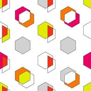 Polygon Geometric Print