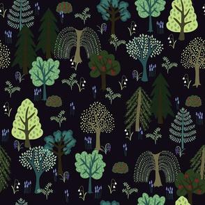 Deep Forest Green