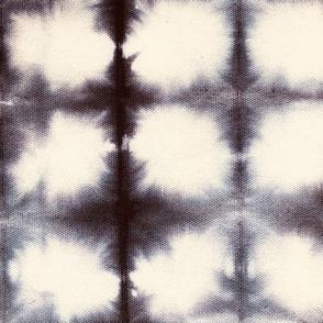 Shibori Circles 1 - medium, black