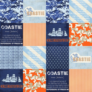 Coast Guard Faux Quilt