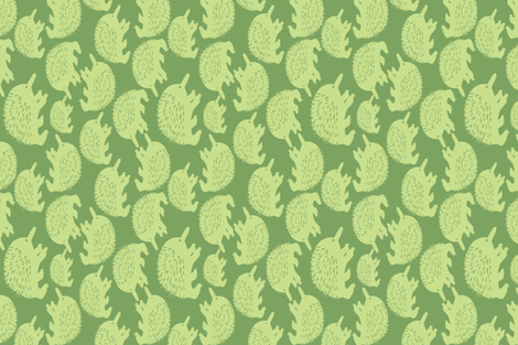 Echidna family fabric by vicki_larner on Spoonflower - custom fabric