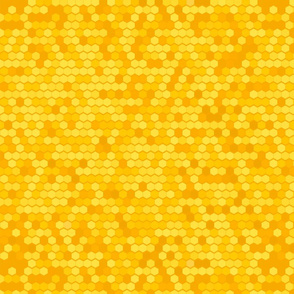 Bee's Honeycomb Yellow