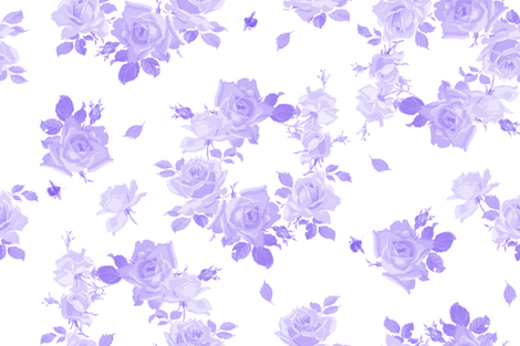 Louise blue violet mono fabric by lilyoake on Spoonflower - custom fabric