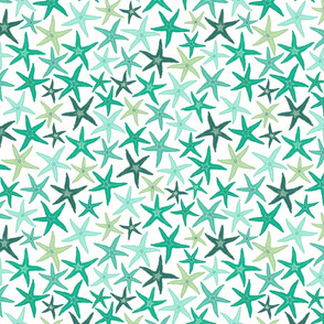 starfish - mint & green