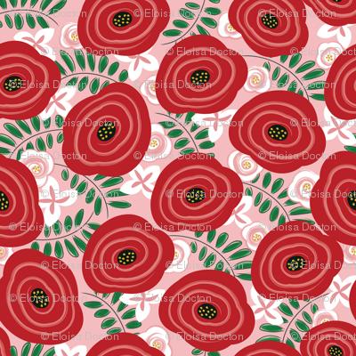 Rosalinda - Pink Red