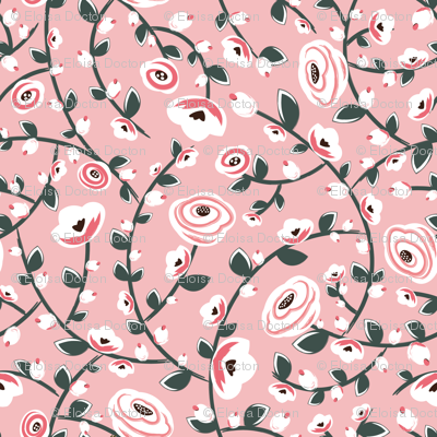 Wedding Stems - Pink