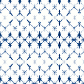 Shibori Diamonds 1 -small, indigo blue