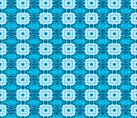 Blue Block Marble fabric by just_meewowy_design on Spoonflower - custom fabric