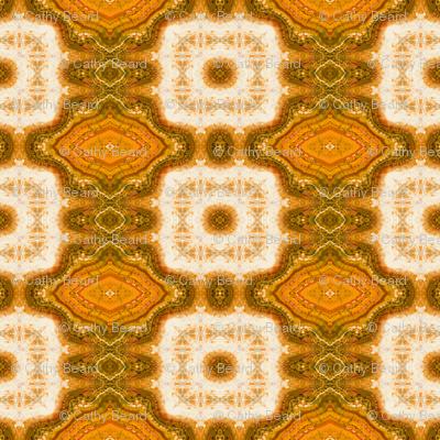Orange Block Marble
