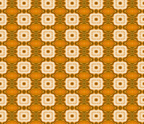 Orange Block Marble fabric by just_meewowy_design on Spoonflower - custom fabric