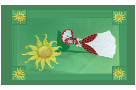 SUNFLOWER LADYBUG fabric by proverbs31girl on Spoonflower - custom fabric