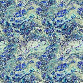 marbling-varied blue