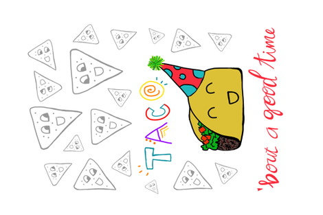 Taco Party! fabric by spontaneousgood on Spoonflower - custom fabric