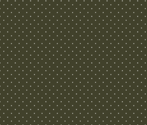 olive green x fabric by ivieclothco on Spoonflower - custom fabric