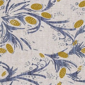 FRENCH LINEN THISTLE ROTATED
