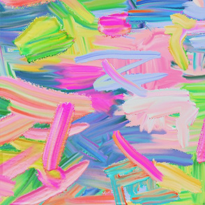 Abstract Bright Paint