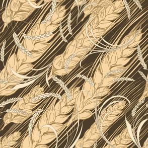 Bountiful Wheat, tea towel