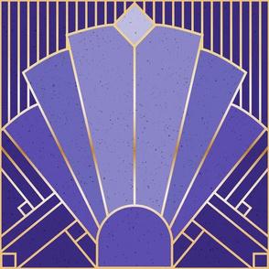 Art Deco Purple