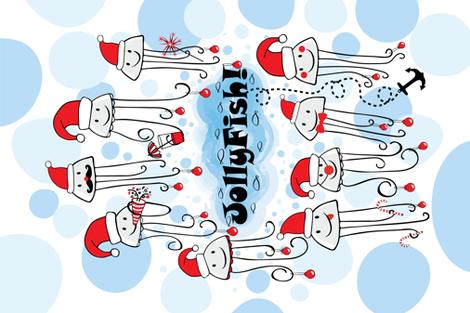 Jollyfish fabric by neishniche on Spoonflower - custom fabric