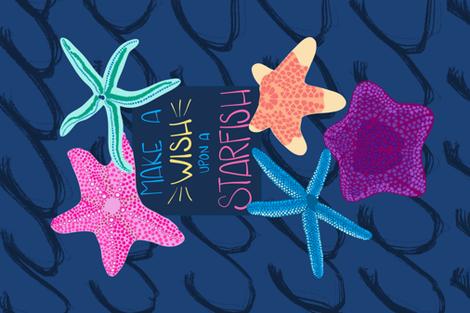 Starfish Wishes fabric by jenniejoyce on Spoonflower - custom fabric