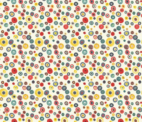 Nordic dots fabric by joanna_plucknett on Spoonflower - custom fabric