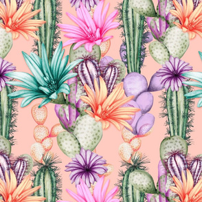 Tropical Catus Pastels