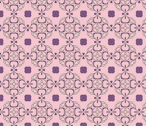 Persian Inspired Pattern 1 fabric by power_pattern on Spoonflower - custom fabric