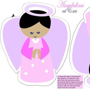 Angelalina dark hair