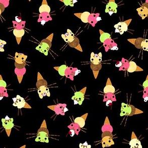 Tiny Cat Cones 1