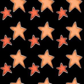 Fall Project 787.3 | Autumn Stars on Black