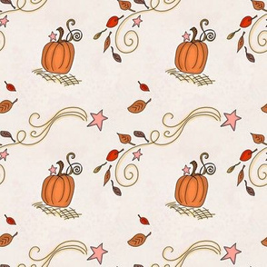 Fall Project 788.5 | Pumpkins and Stars