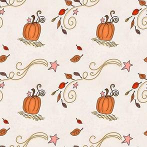 Fall Project 788.5 | Pumpkins and Stars
